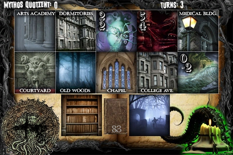 Necronomicon iPhone Game screenshot 1