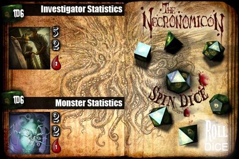 Necronomicon iPhone Game screenshot 2