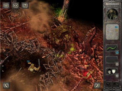 Call of Cthulhu: The Wasted Land (iPad screenshot)