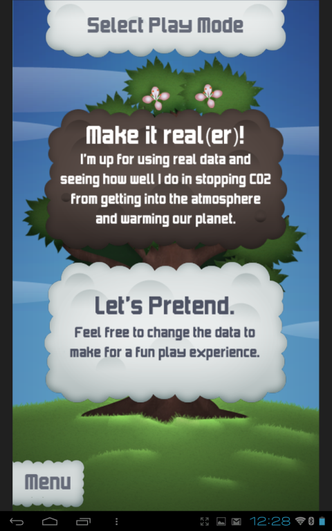 Climate Defense (play real-er or pretend?)