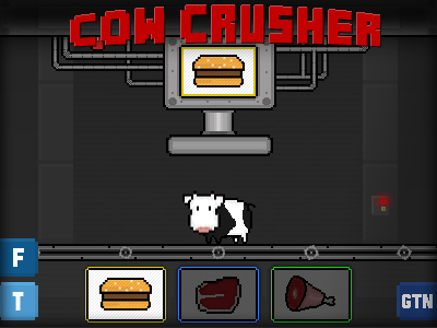 Cow Crusher by GameTheNews.net