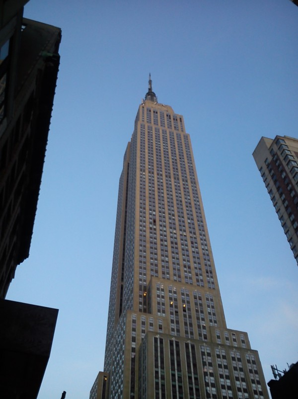 The Empire State Building in NYC