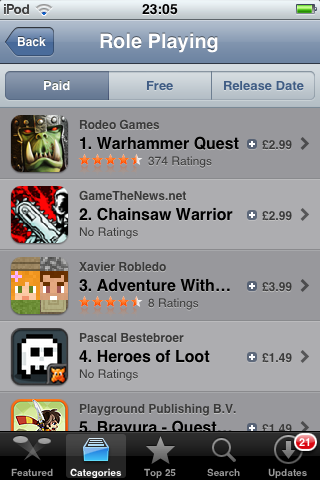Chainsaw Warrior on App Store