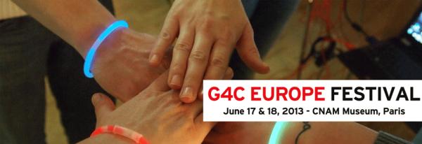 G4C Europe festival banner